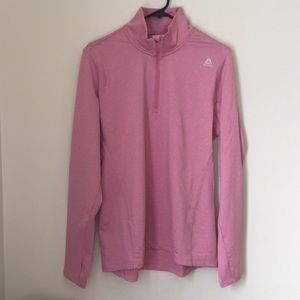XL Reebok Quarter Zip Pullover Top!